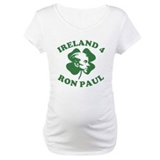 Ireland 4 Ron Paul Maternity T-Shirt