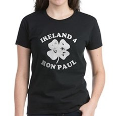 Ireland 4 Ron Paul Womens T-Shirt