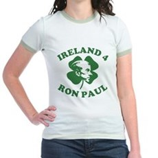 Ireland 4 Ron Paul Jr Ringer T-Shirt