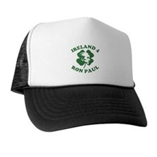 Ireland 4 Ron Paul Trucker Hat