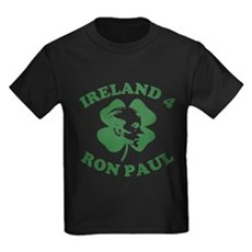 Ireland 4 Ron Paul Kids T-Shirt