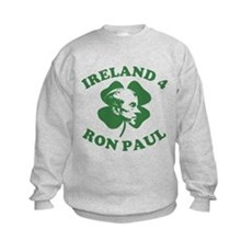 Ireland 4 Ron Paul Kids Sweatshirt