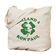 Ireland 4 Ron Paul Tote Bag