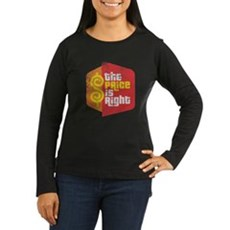 The Price Is Right Womens Long Sleeve Dark T-Shir