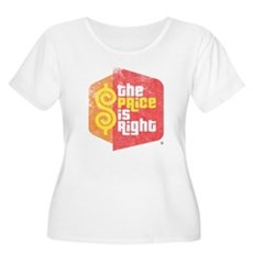The Price Is Right Womens Plus Size Scoop Neck T-