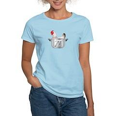 chicken pot pi Women's Light T-Shirt