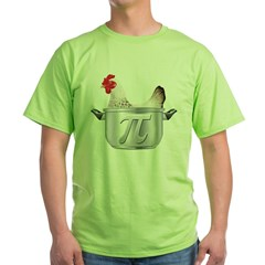 Chicken Pot Pi Green T-Shirt