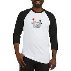Chicken Pot Pi Baseball Jersey