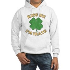 Kiss Me I'm Irate Hooded Sweatshirt