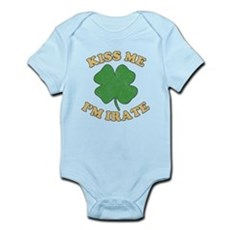 Kiss Me I'm Irate Infant Bodysuit