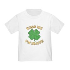 Kiss Me I'm Irate Toddler T-Shirt