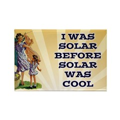 Solar Power Fridge Magnet
