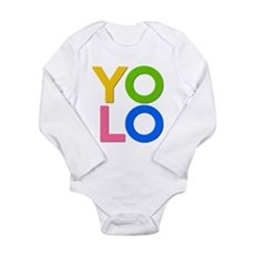 YOLO Long Sleeve Infant Bodysuit