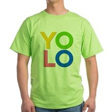 YOLO Green T-Shirt