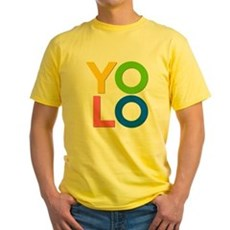 YOLO Yellow T-Shirt