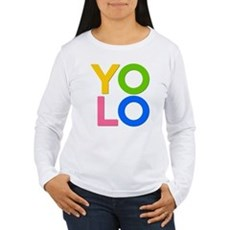 YOLO Womens Long Sleeve T-Shirt