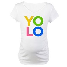 YOLO Maternity T-Shirt