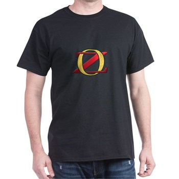 Golden OZ Black T-Shirt | Wonderful Wizard of Oz Clothing | Wizard of Oz T-Shirts