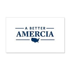 A Better Amercia 20x12 Wall Decal