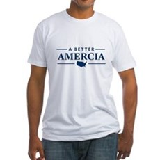 A Better Amercia Fitted T-Shirt