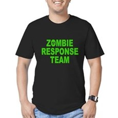 Zombie Response Team Mens Fitted Dark T-Shirt