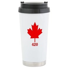 Canada 420 Stainless Steel Travel Mug