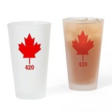 Canada 420 Drinking Glass