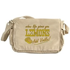 When Life Gives You Lemons Messenger Bag