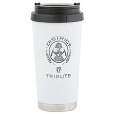 District 12 Tribute Stainless Steel Travel Mug