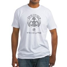 District 12 Tribute Fitted T-Shirt