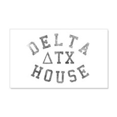 Delta House 20x12 Wall Decal