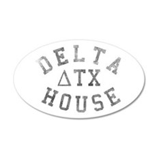 Delta House 20x12 Oval Wall Decal