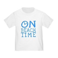 On Beach Time Toddler T-Shirt