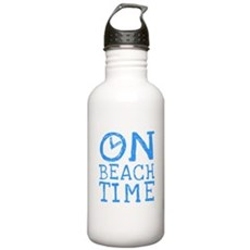 On Beach Time Stainless Water Bottle 1 Liter