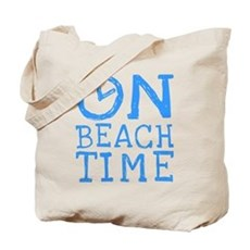 On Beach Time Tote Bag