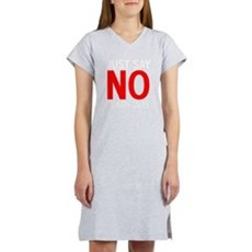 Say No to Bath Salts Womens Nightshirt