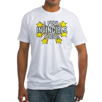 Stars of Invincibility Fitted T-Shirt | Gifts For A Geek | Geek T-Shirts