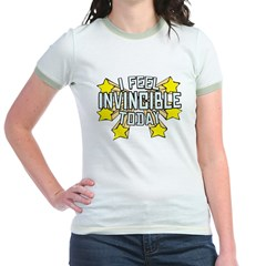 Stars of Invincibility Jr. Ringer T-Shirt