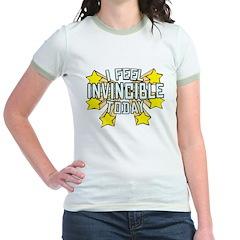 Stars of Invincibility Jr. Ringer T-Shirt
