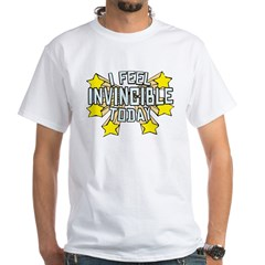 Stars of Invincibility White T-Shirt