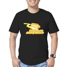 Livin a Van Down By the River Mens Fitted T-Shirt