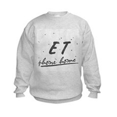 ET Phone Home Kids Sweatshirt