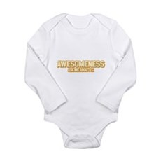 Awesomeness Long Sleeve Infant Bodysuit