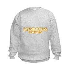 Awesomeness Kids Sweatshirt
