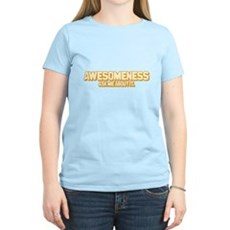 Awesomeness Womens Light T-Shirt
