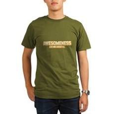 Awesomeness Organic Mens Dark T-Shirt