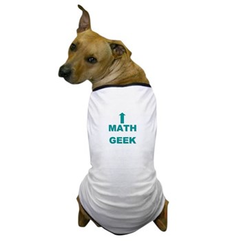 Math Geek Dog T-Shirt | Gifts For A Geek | Geek T-Shirts