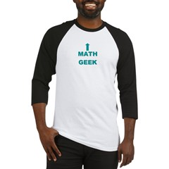 Math Geek Baseball Jersey