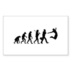 Evolution of Freedom Rectangle Sticker
