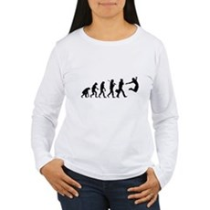 Evolution of Freedom Womens Long Sleeve T-Shirt